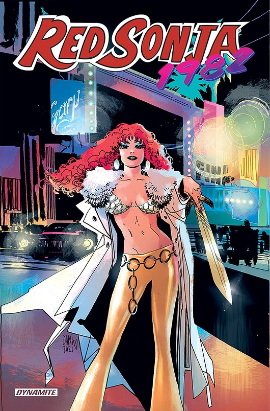 Cover of Red Sonja 1982 One-shot