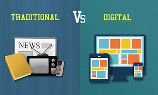 Publicidad digital frente a los anuncios tradicionales