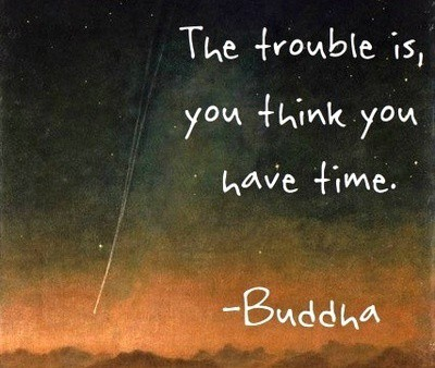 Buddha, Time, hope