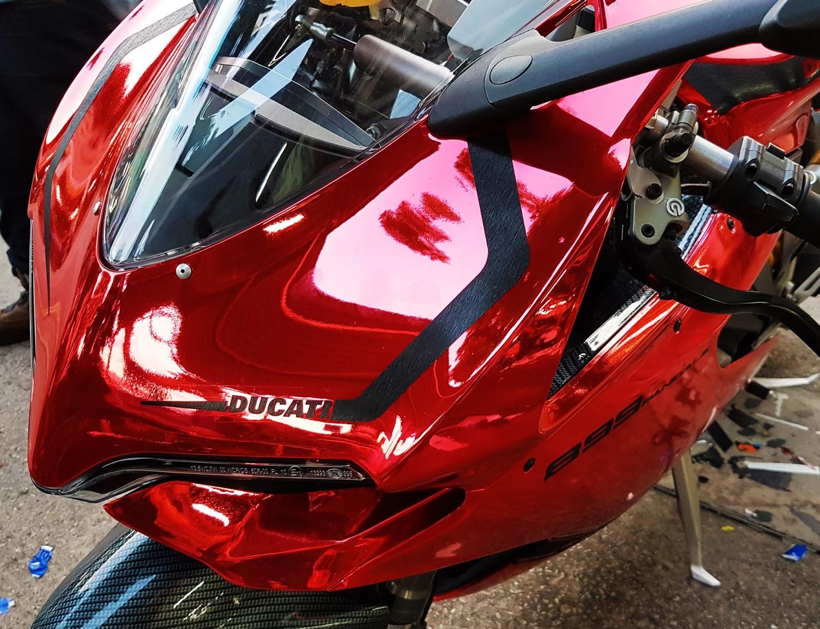 Vaune Phan: 7 Angelz : Turning My Ducati Panigale Into Chrome