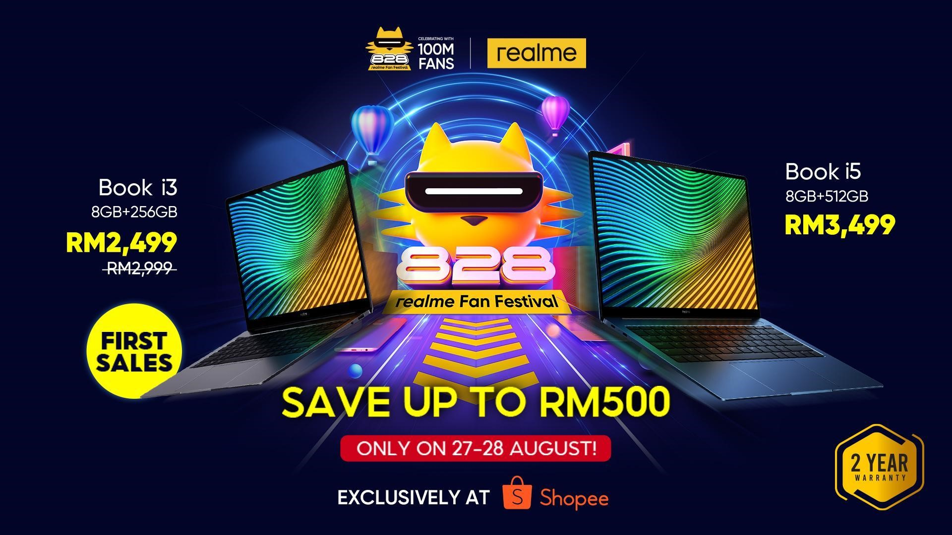 Realme Book Now Official Launch In Malaysia