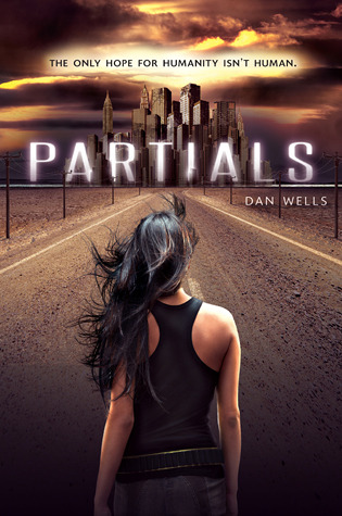 Partials by Dan Wells book cover