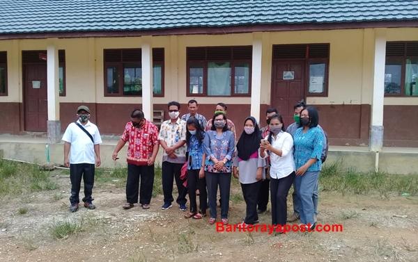 Pembangunan Ruang Kelas Baru di SDN Desa Mawani Dikerjakan Secara Swakelola