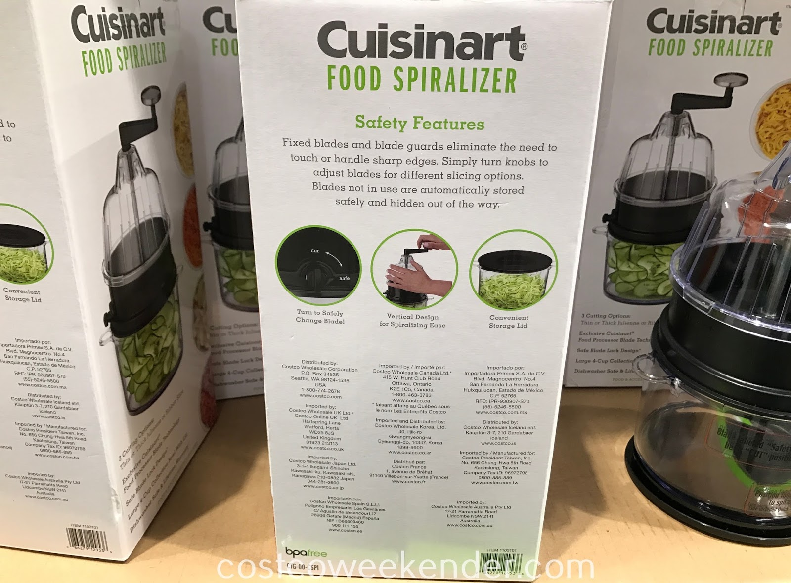 Cuisinart Food Spiralizer: great for any chef or home cook