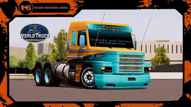 Skins World Truck, Skins Wtds, Wtds, Scania, Scania 113, 113
