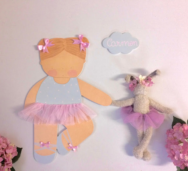 silueta infantil personalizada para decorar la pared , decoración infantil personalizada
