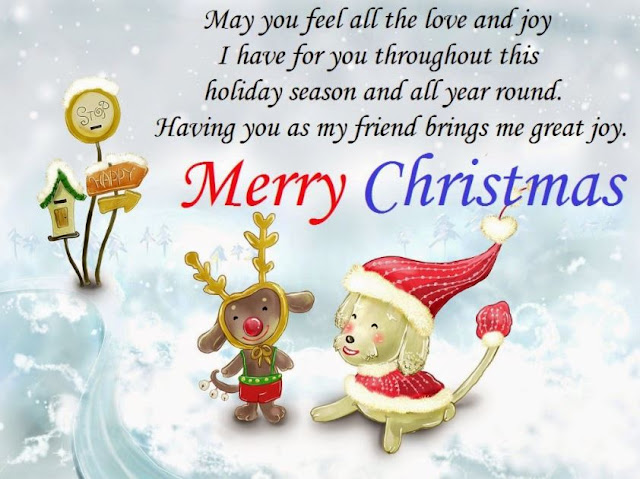 Merry Christmas Wishes Greetings Image