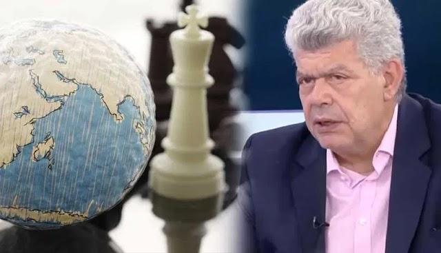 Μάζης: Γιατί Τραμπ-Γερμανία υπέρ Τουρκίας και Γαλλία-Ισραήλ υπέρ Ελλάδας (BINTEO)