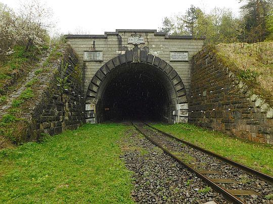 Tunel w Łupkowie od strony słowackiej.