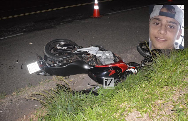 Motociclista de 21 anos morre após colidir na traseira de caminhão em rodovia de Paraguaçu