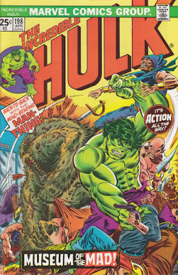 Incredible Hulk #198, Man-Thing