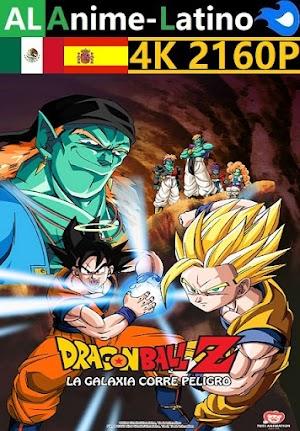 Dragon Ball Z - La galaxia corre peligro [1993] [4K ULTRA HD] [2160P] [Latino] [Castellano] [Inglés] [Japonés] [Mediafire]