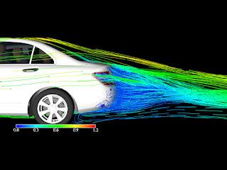 Separazione del flusso, generatori di vortici, numero di Reynolds e scia aerodinamica