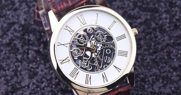 Hello redditors , we just started an online shop and we thought it would be great to make a GIVEAWAY! So we are giving 20 coupons for a MECHANICAL LEATHER WATCH(normally 100$)! Use this coupon code : 4REVIEW in checkout and get 100% discount! All you have