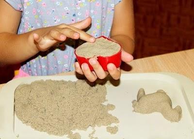 Cómo hacer arena kinética, cinética o mágica