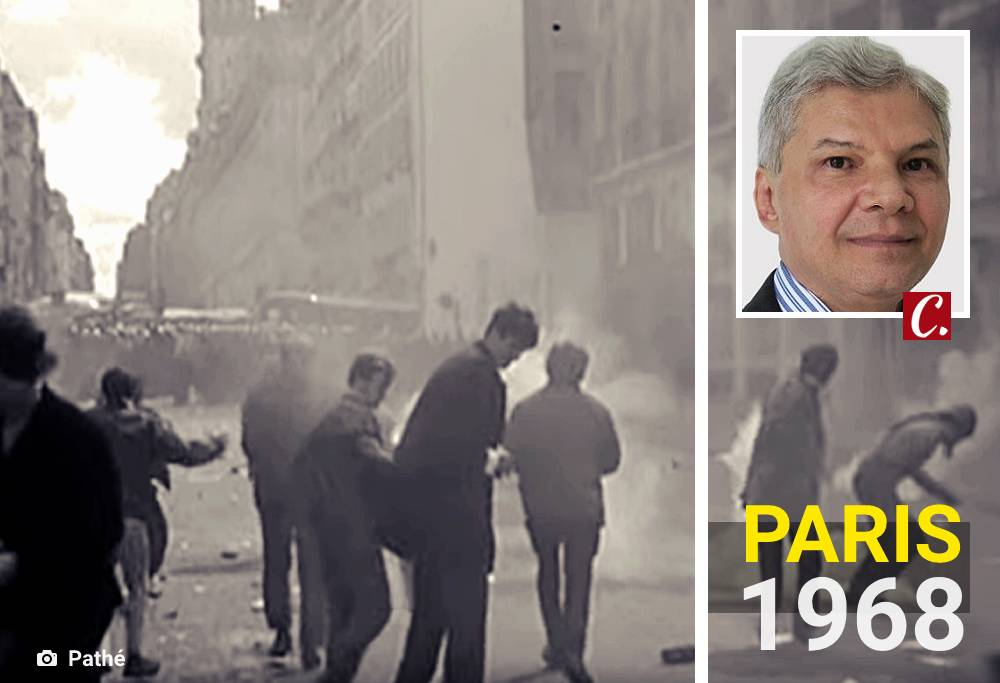 literatura paraibana revolta estudantil paris maio 1968 manifestacao politica