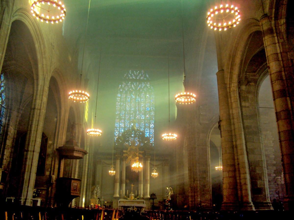 L'église Saint-Germain de Rennes en décembre 2014 - Photo Erwan Corre