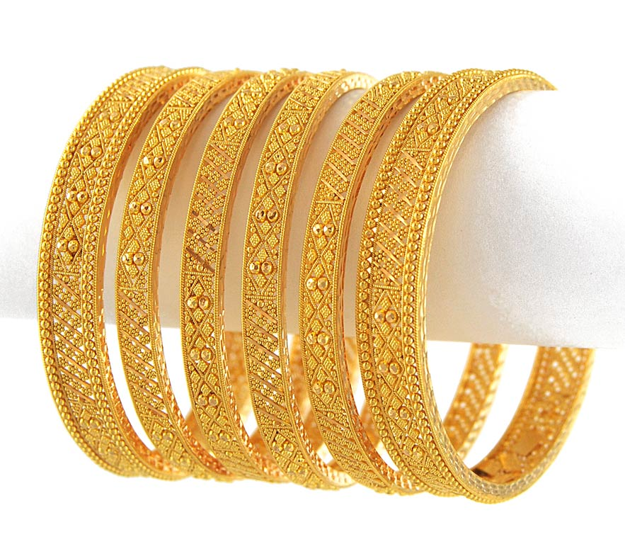 Gold Bangle Designs ~ Queen Of Heaven...