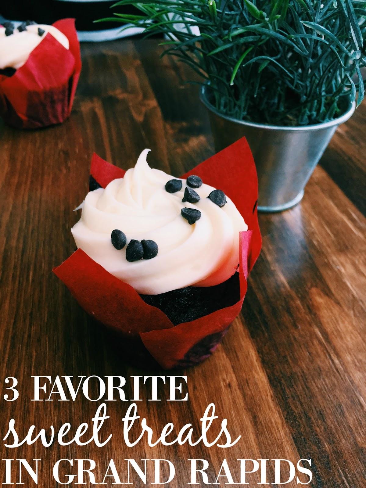 Favorite 3 Sweet Treats in Grand Rapids