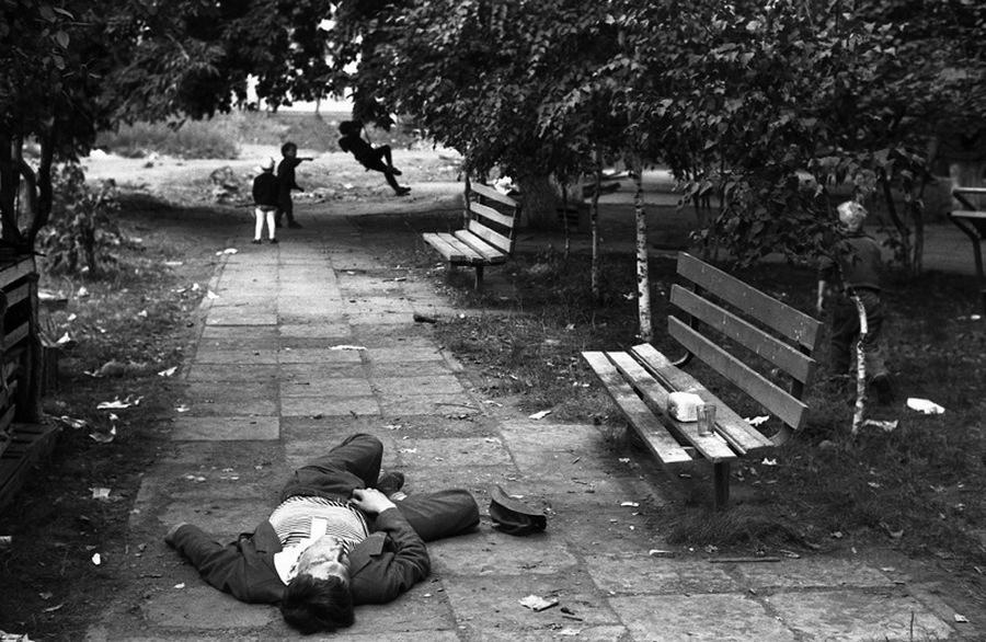 Улицы СССР в дни получки и аванса