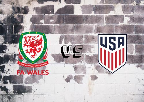 Gales vs Estados Unidos  Resumen