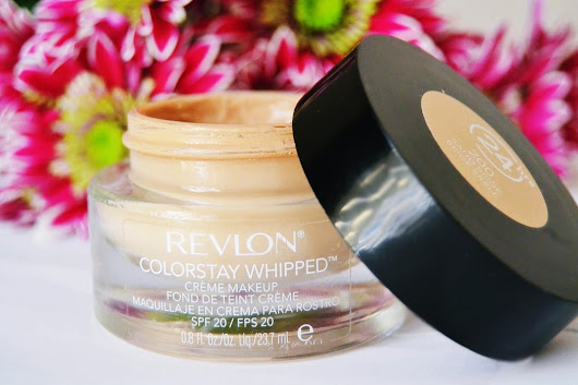 {Beauty Review} Revlon Colorstay Whipped