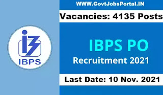 IBPS PO 2021 Notification Out