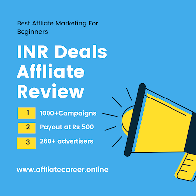 Inr Deals Affiliate Review Best