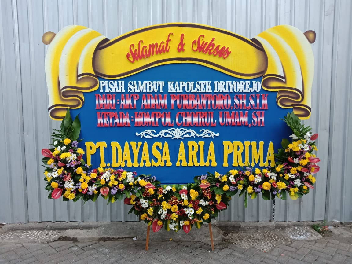 Toko Bunga Papan Selamat dan Sukses Surabaya