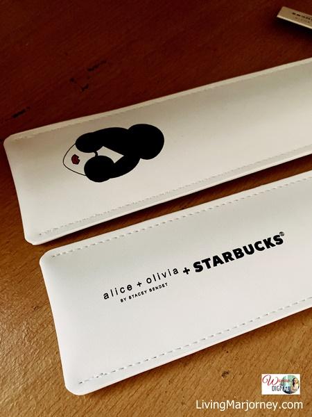 Alice + Olivia + Starbucks Straw Holder