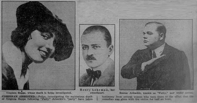 Virginia Rappe Henry Lehrman Fatty Arbuckle