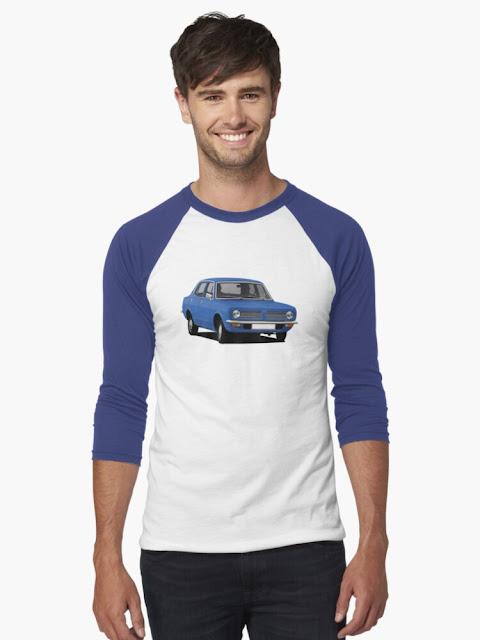 Morris Marina Sedan T-shirt - blue