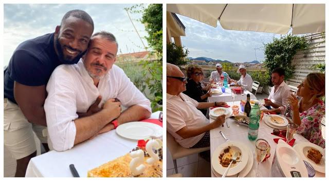 Nigerian advertising expert, Kenny Badmus, celebrates his husband, Max as he turns a year older (photos)