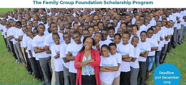 2020 Family Group Foundation Secondary School Scholarships