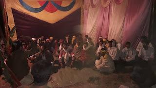 ग्राम छुआ में हुई शांति समिति की बैठक संपन्न