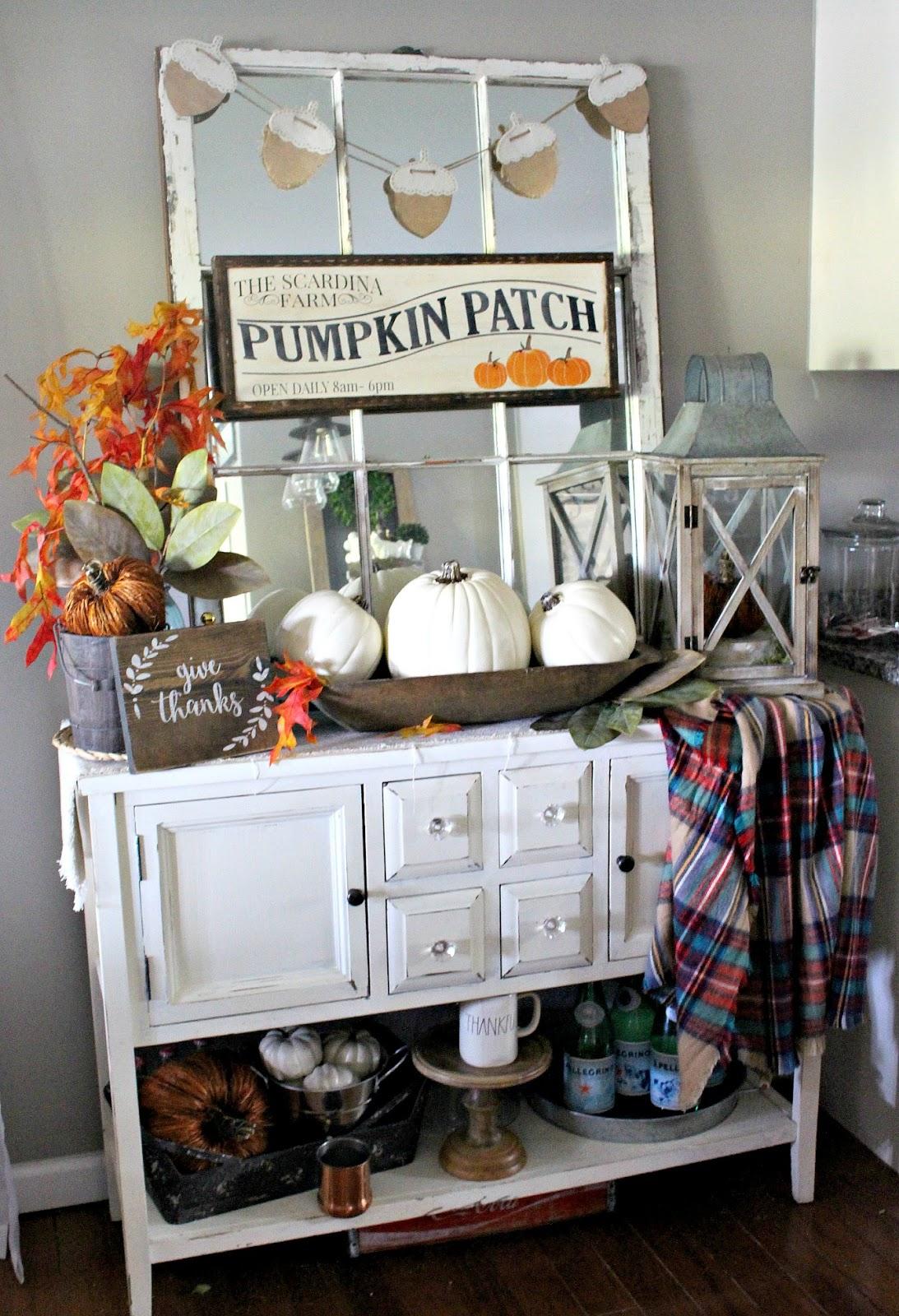 Cozy Classic Fall Farmhouse Decor