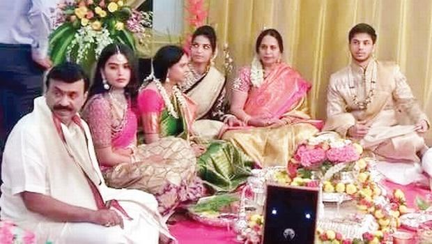 Janardhana Reddy Daughter Wedding 3