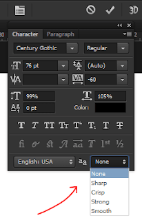 Cara Mengatasi Tulisan Yang Bergerigi Di Photoshop