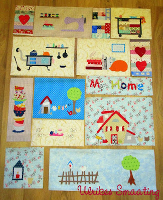 sewing themed quilt blocks