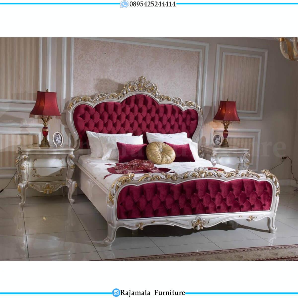 Tempat Tidur Mewah Terbaru Luxury Classic Mebel Jepara RM-0647