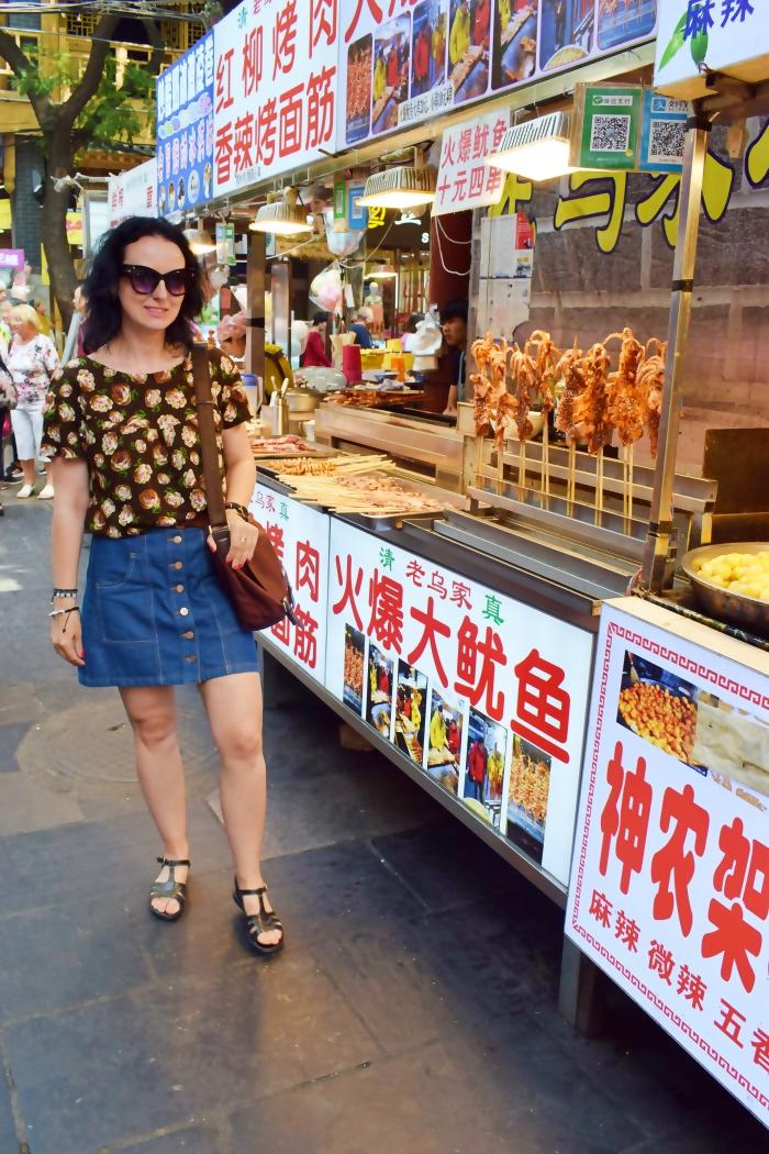 Xian - smaki ulicy i dzielnica muzułmańska