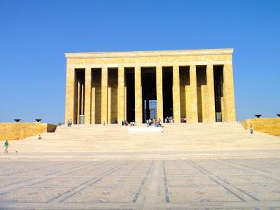Ataturk Mausoleum in Ankara Turkey