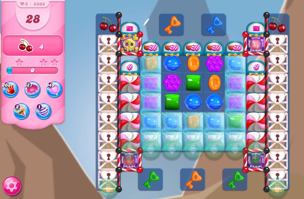 Candy Crush Saga level 8208