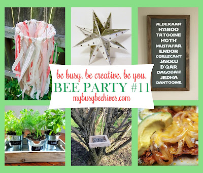 My Busy Beehives #beeparty FEATURES #11
