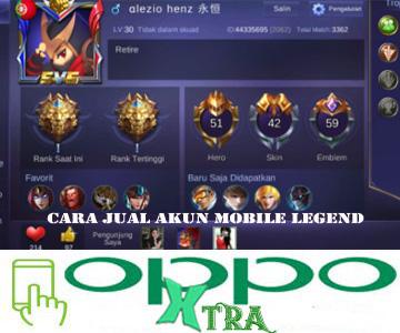 Cara Jual Akun Mobile Legend