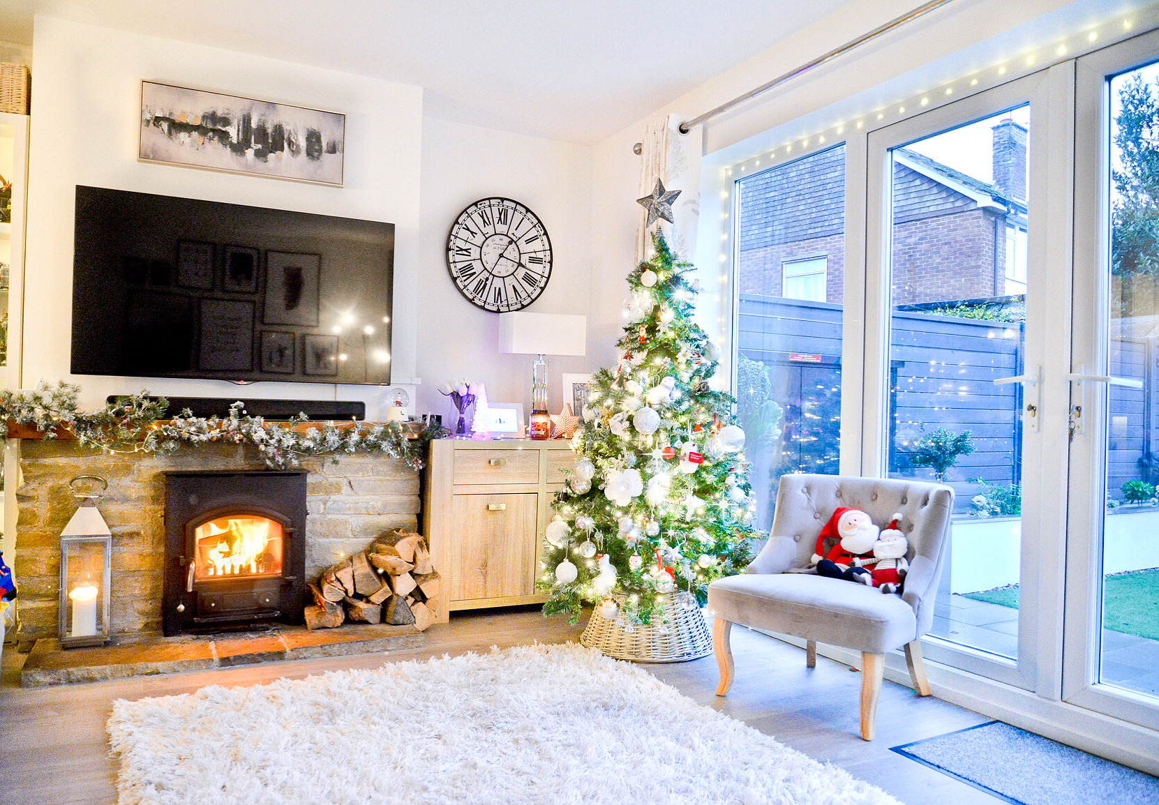 christmas home decor, modern holiday decor, modern christmas home decor