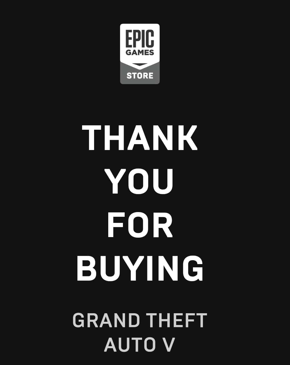 Epic games store gta v free