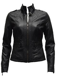 Gambar Jacket Kulit Wanita