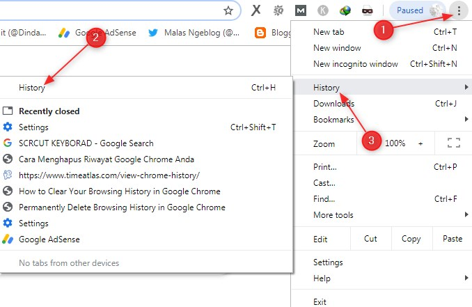 How to Delete History on Google Chrome Computers