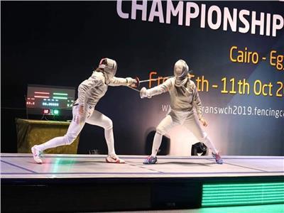 سيدات الفراعنة في مهمة رسمية ب بطولة العالم لرواد السلاح
